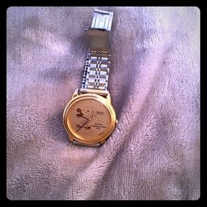 Mickey Mouse two toned watch
